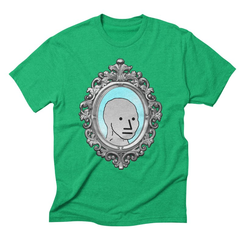 NPC in the Mirror Men's Triblend T-Shirt by Applesawus