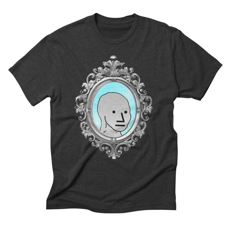 NPC in the Mirror Men's Triblend T-Shirt by Applesawus