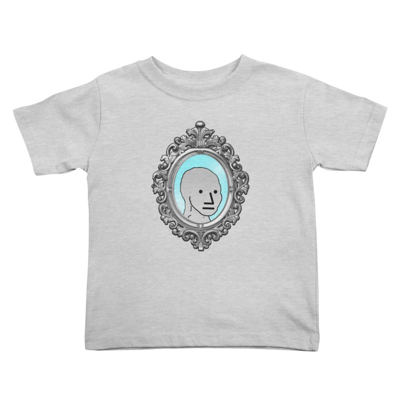 NPC in the Mirror Kids Toddler T-Shirt by Applesawus