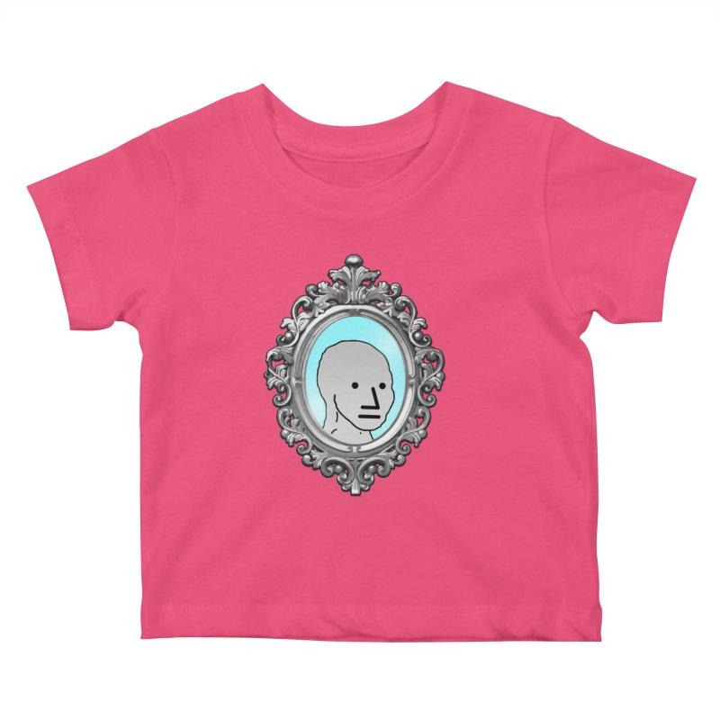 NPC in the Mirror Kids Baby T-Shirt by Applesawus