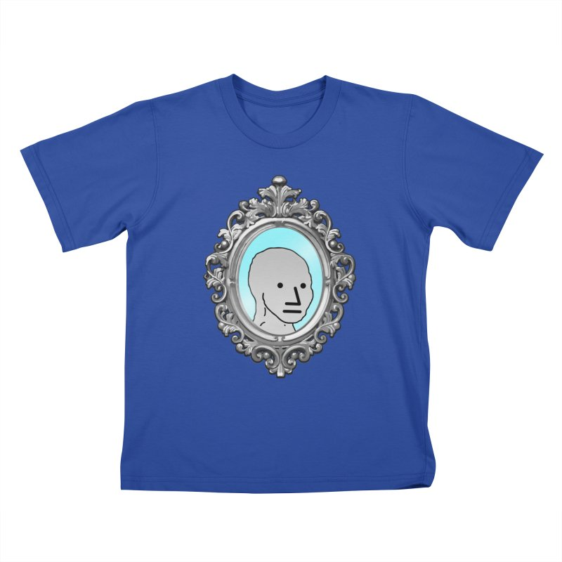 NPC in the Mirror Kids T-Shirt by Applesawus