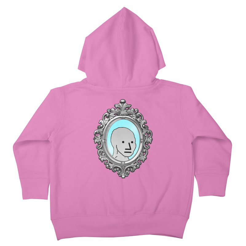 NPC in the Mirror Kids Toddler Zip-Up Hoody by Applesawus