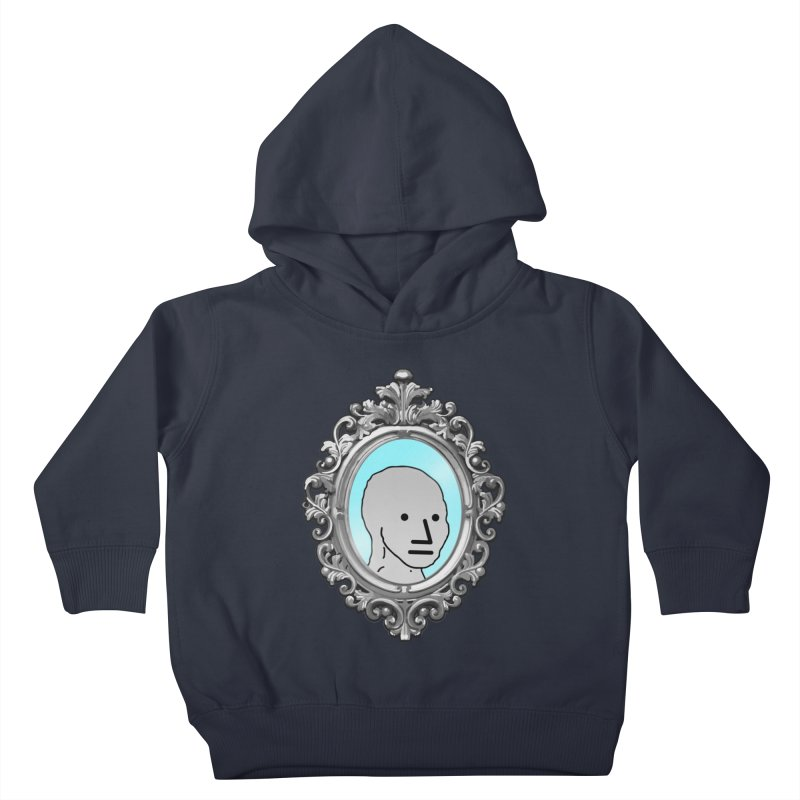 NPC in the Mirror Kids Toddler Pullover Hoody by Applesawus