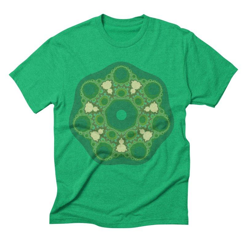 bifurcation loci Men's T-Shirt by m u l t i d i m e n s i o n a l