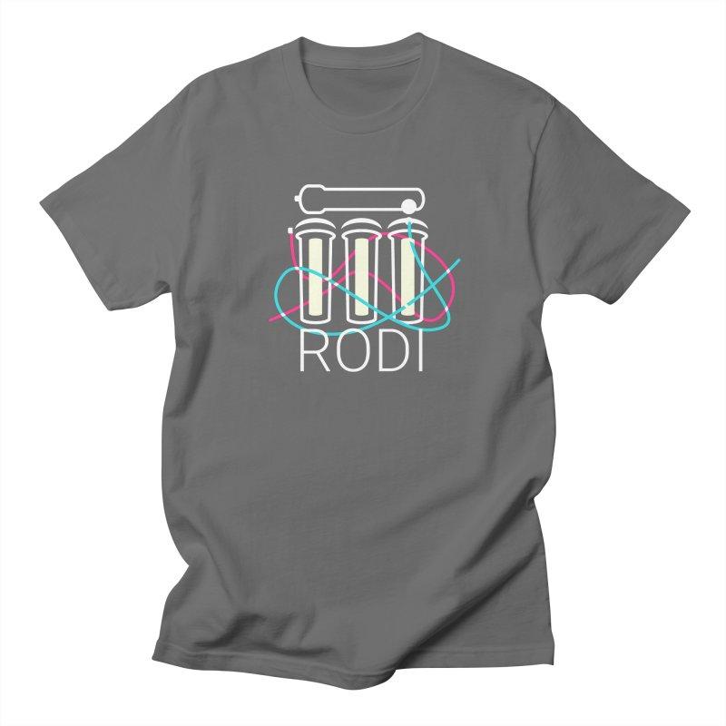 Reverse Osmosis Deionization Filter (RODI) Men's T-Shirt by Aquarium Apps Apparel