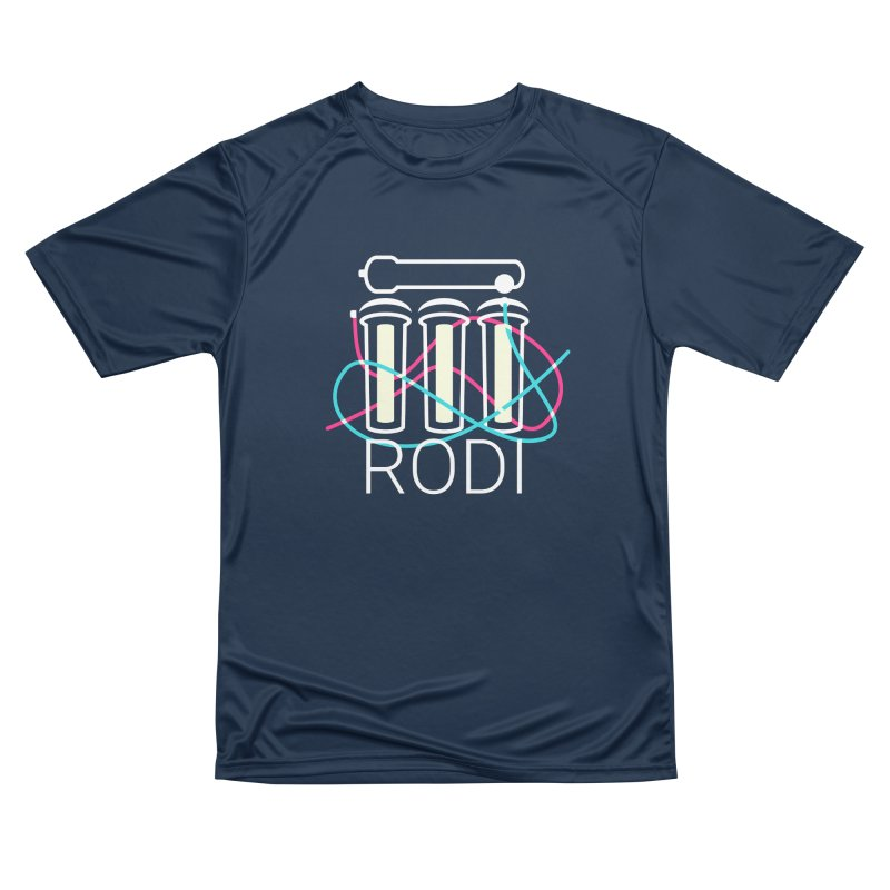 Reverse Osmosis Deionization Filter (RODI) Women's Performance Unisex T-Shirt by Aquarium Apps Apparel