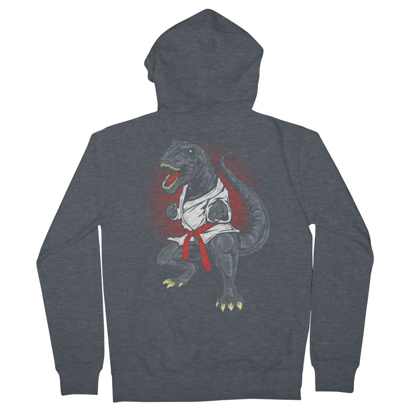 KARA T-REX Women's Zip-Up Hoody by arace's Artist Shop