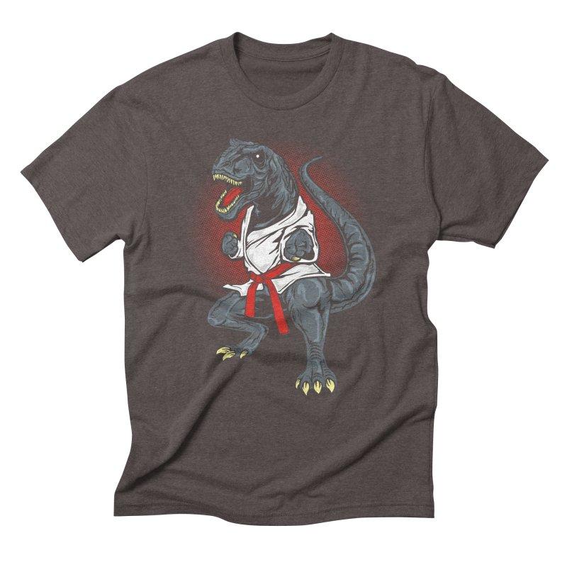 KARA T-REX Men's Triblend T-Shirt by arace's Artist Shop