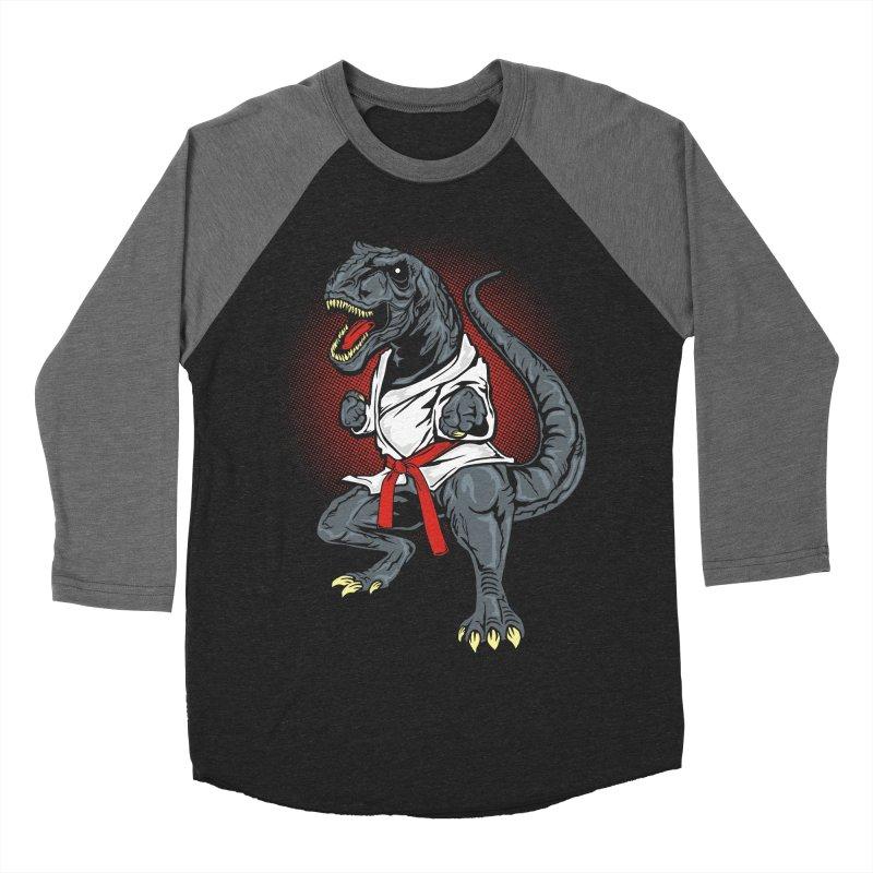 KARA T-REX Women's Baseball Triblend T-Shirt by arace's Artist Shop
