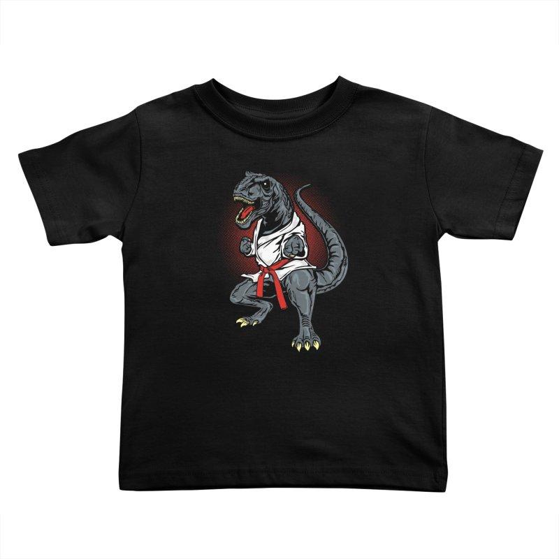 KARA T-REX Kids Toddler T-Shirt by arace's Artist Shop