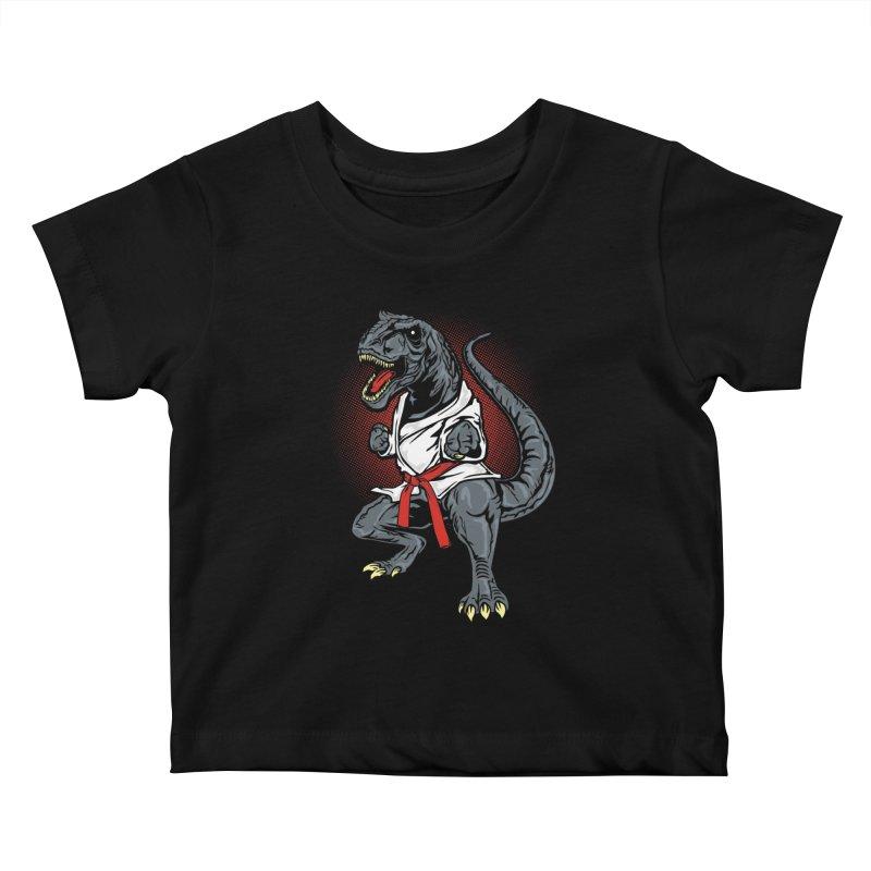 KARA T-REX Kids Baby T-Shirt by arace's Artist Shop