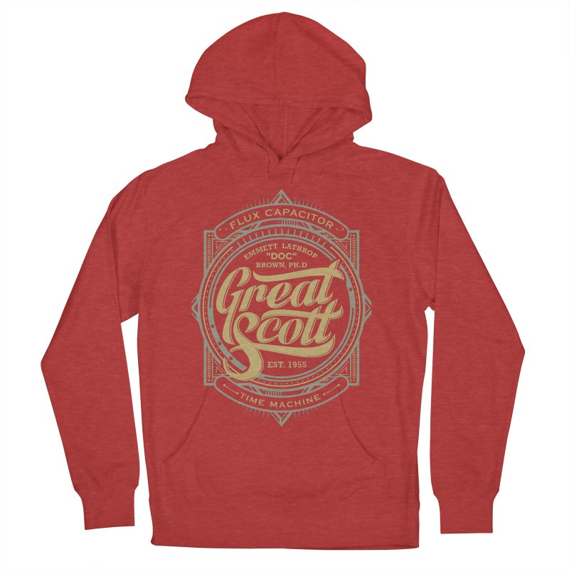 GREAT SCOTT ! Women's Pullover Hoody by arace's Artist Shop
