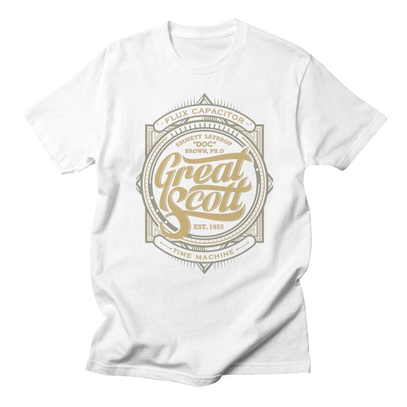 GREAT SCOTT ! Men's T-shirt by arace's Artist Shop
