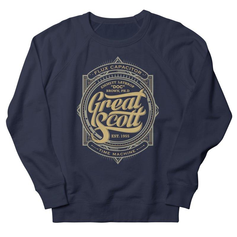 GREAT SCOTT ! Men's Sweatshirt by arace's Artist Shop