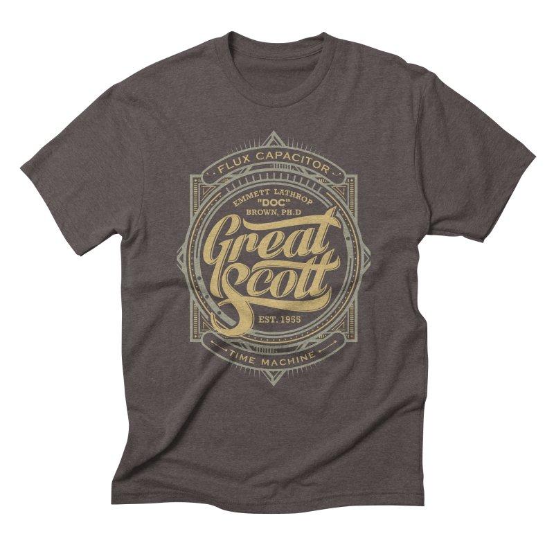 GREAT SCOTT ! Men's Triblend T-shirt by arace's Artist Shop
