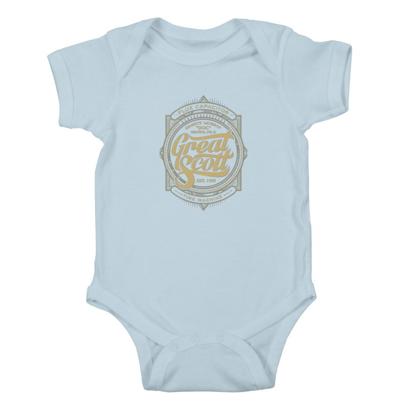 GREAT SCOTT ! Kids Baby Bodysuit by arace's Artist Shop