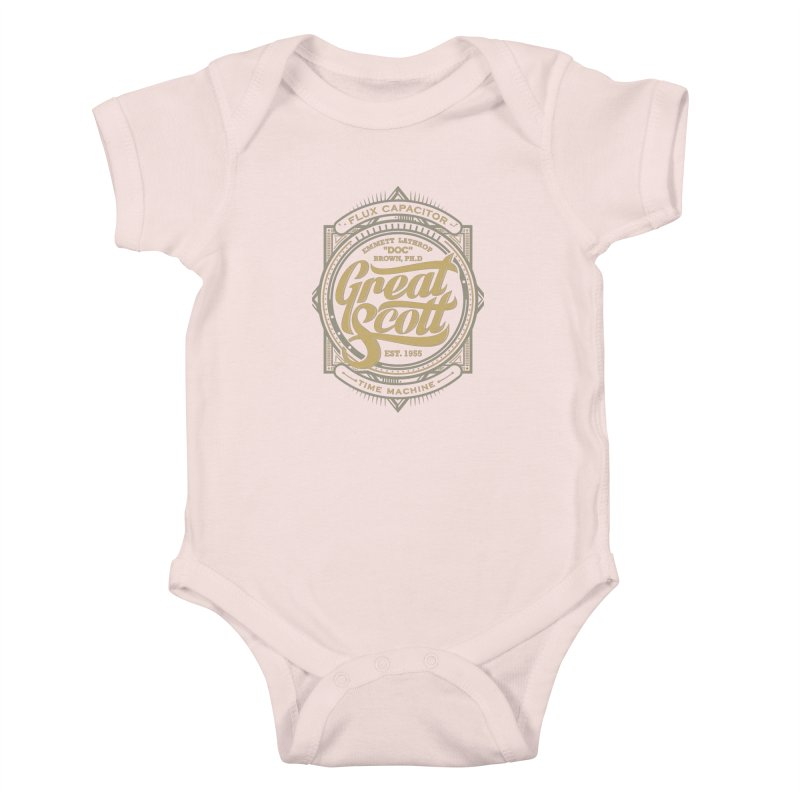 GREAT SCOTT ! Kids Baby Bodysuit by arace's Artist Shop