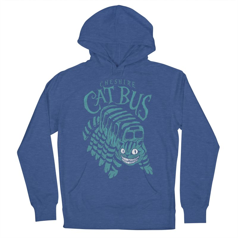 CHESHIRE CAT BUS Men's Pullover Hoody by arace's Artist Shop