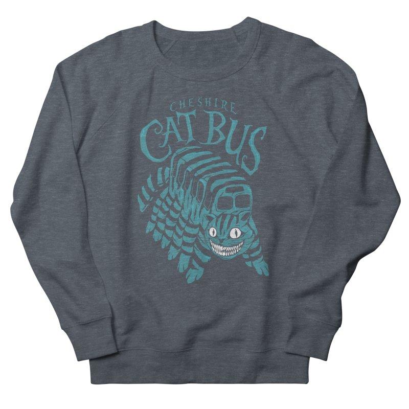 CHESHIRE CAT BUS Men's Sweatshirt by arace's Artist Shop