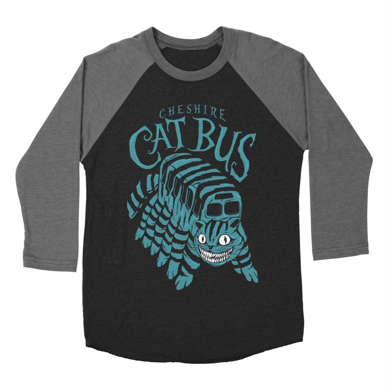 CHESHIRE CAT BUS Men's Baseball Triblend T-Shirt by arace's Artist Shop