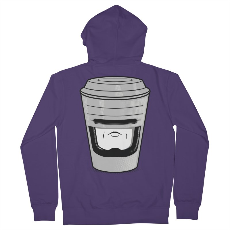 Robo Cup Women's Zip-Up Hoody by arace's Artist Shop