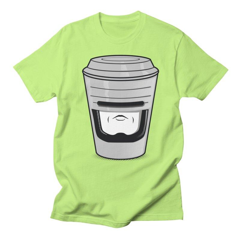 Robo Cup Men's T-shirt by arace's Artist Shop