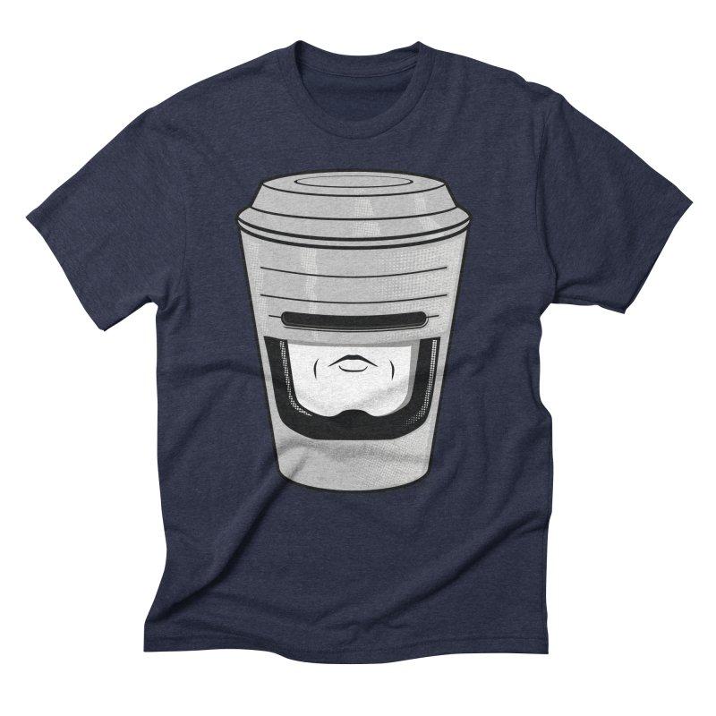 Robo Cup Men's Triblend T-Shirt by arace's Artist Shop