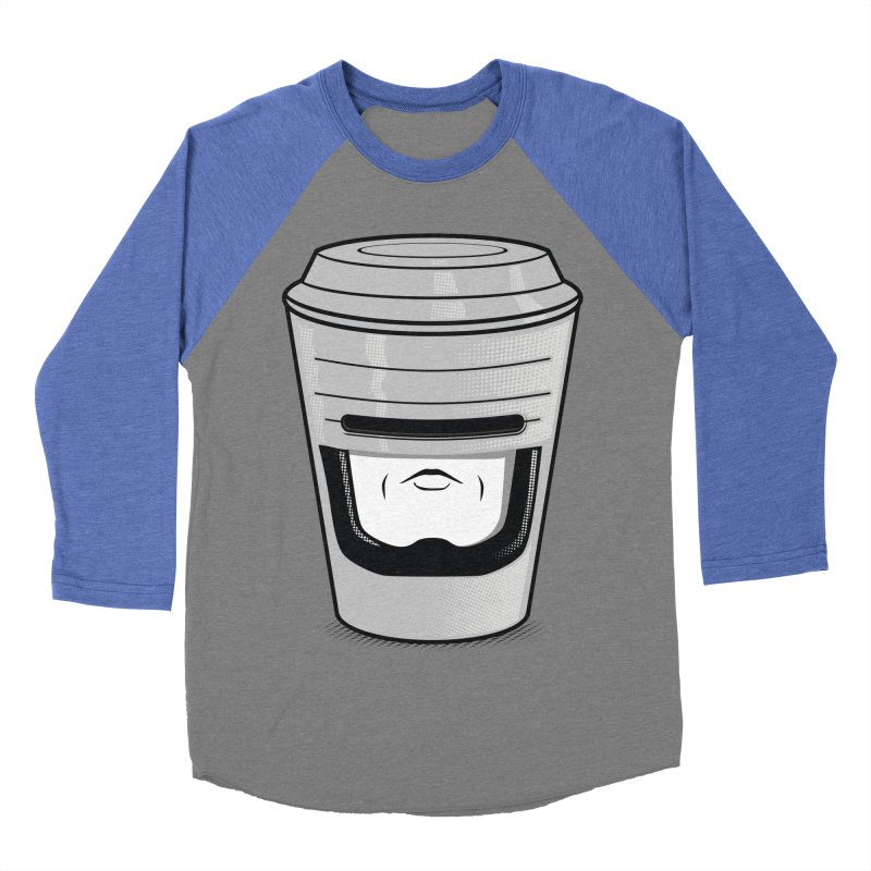 Robo Cup Men's Baseball Triblend T-Shirt by arace's Artist Shop