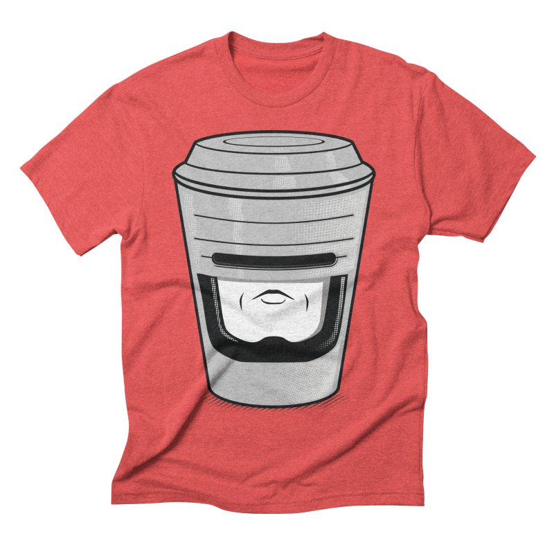 Robo Cup Men's Triblend T-shirt by arace's Artist Shop