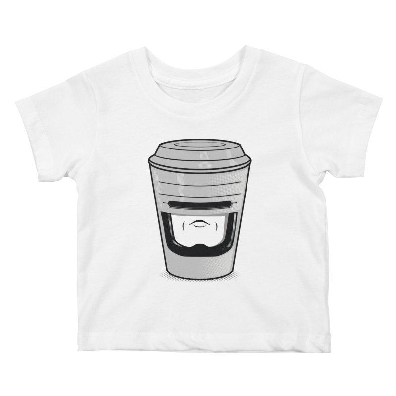 Robo Cup Kids Baby T-Shirt by arace's Artist Shop