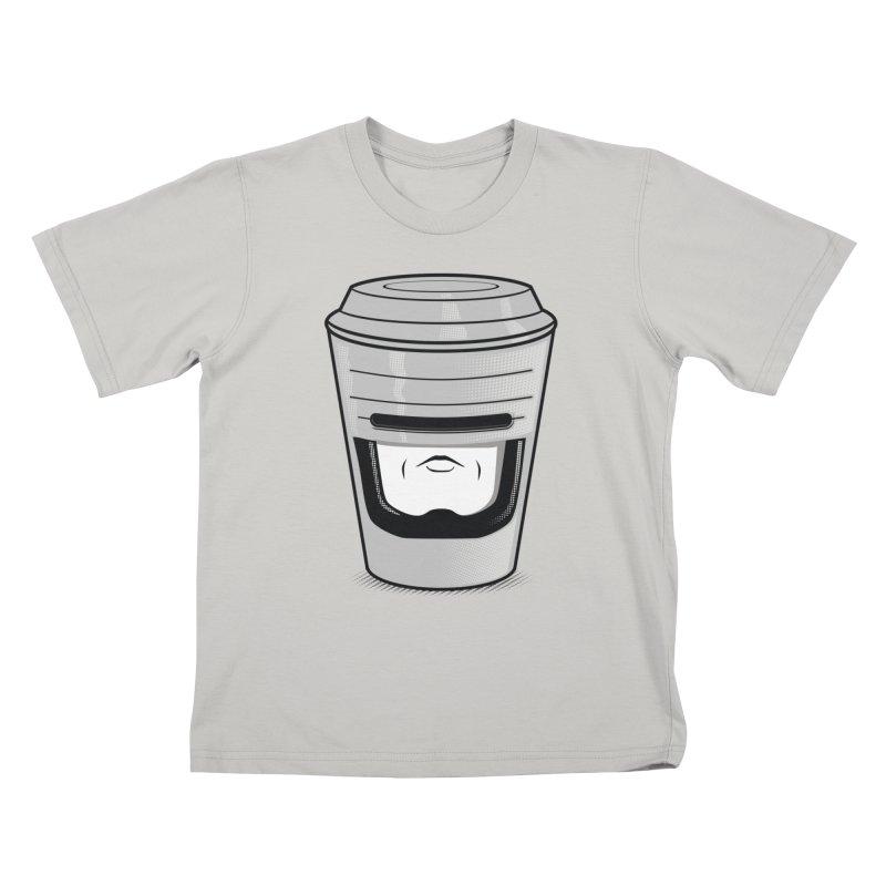Robo Cup Kids T-shirt by arace's Artist Shop