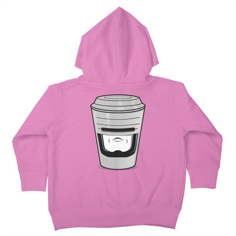 Robo Cup Kids Toddler Zip-Up Hoody by arace's Artist Shop