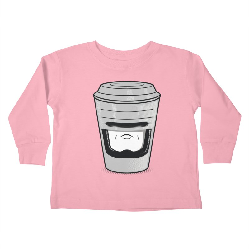 Robo Cup Kids Toddler Longsleeve T-Shirt by arace's Artist Shop