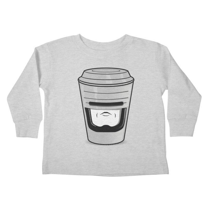 Robo Cup Kids Toddler Longsleeve T-Shirt by arace's Artist Shop