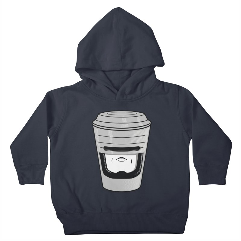 Robo Cup Kids Toddler Pullover Hoody by arace's Artist Shop