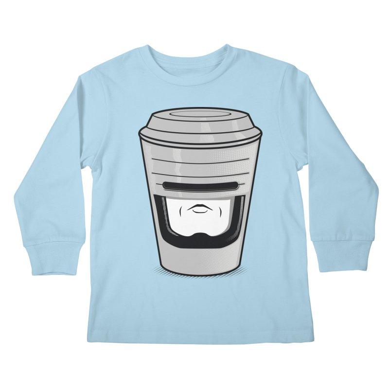 Robo Cup Kids Longsleeve T-Shirt by arace's Artist Shop