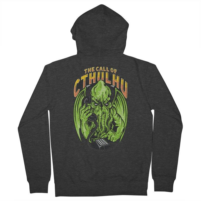 Call of Cthulhu Men's Zip-Up Hoody by arace's Artist Shop