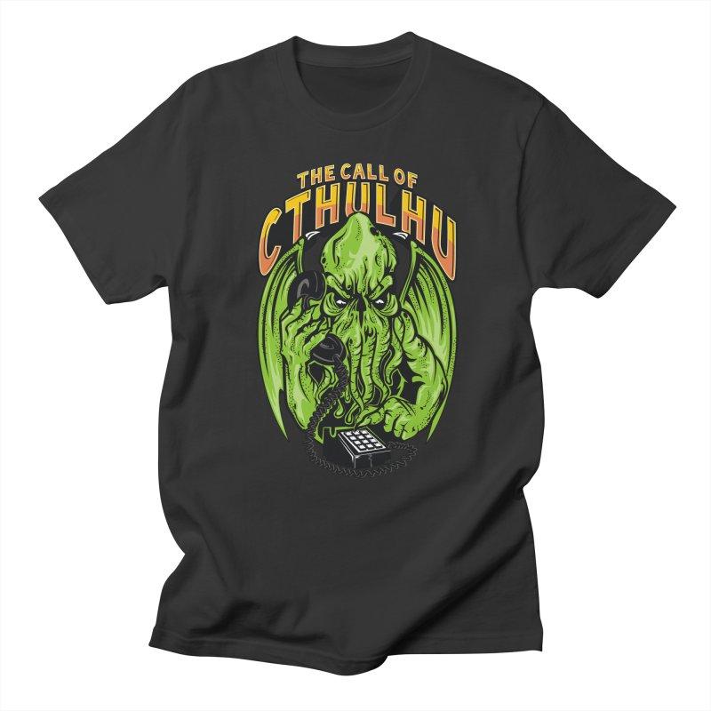 Call of Cthulhu Men's T-shirt by arace's Artist Shop
