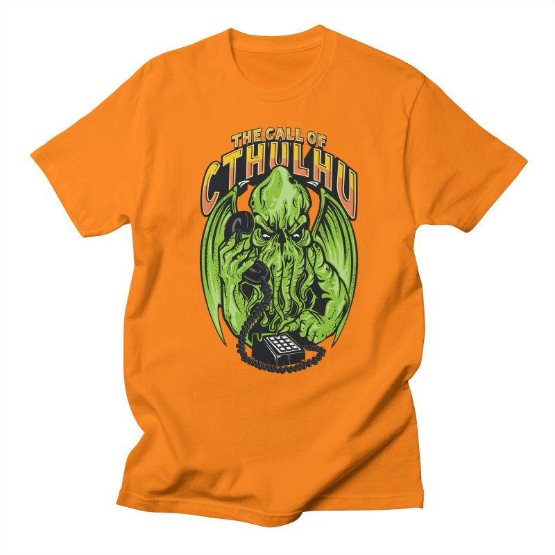 Call of Cthulhu Men's T-shirt by arace's Artist Shop