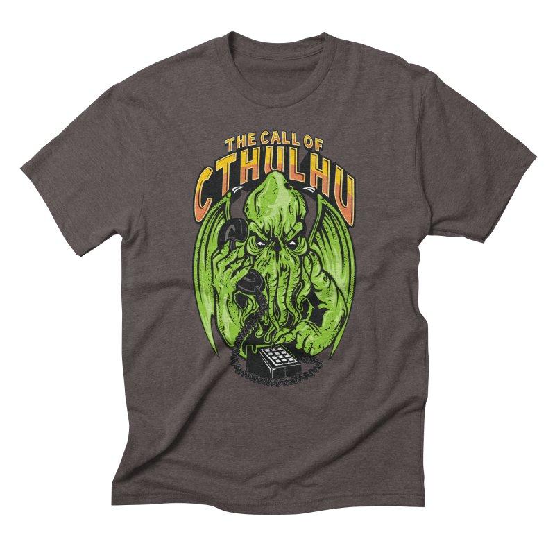 Call of Cthulhu Men's Triblend T-Shirt by arace's Artist Shop