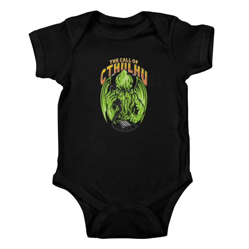 Call of Cthulhu Kids Baby Bodysuit by arace's Artist Shop