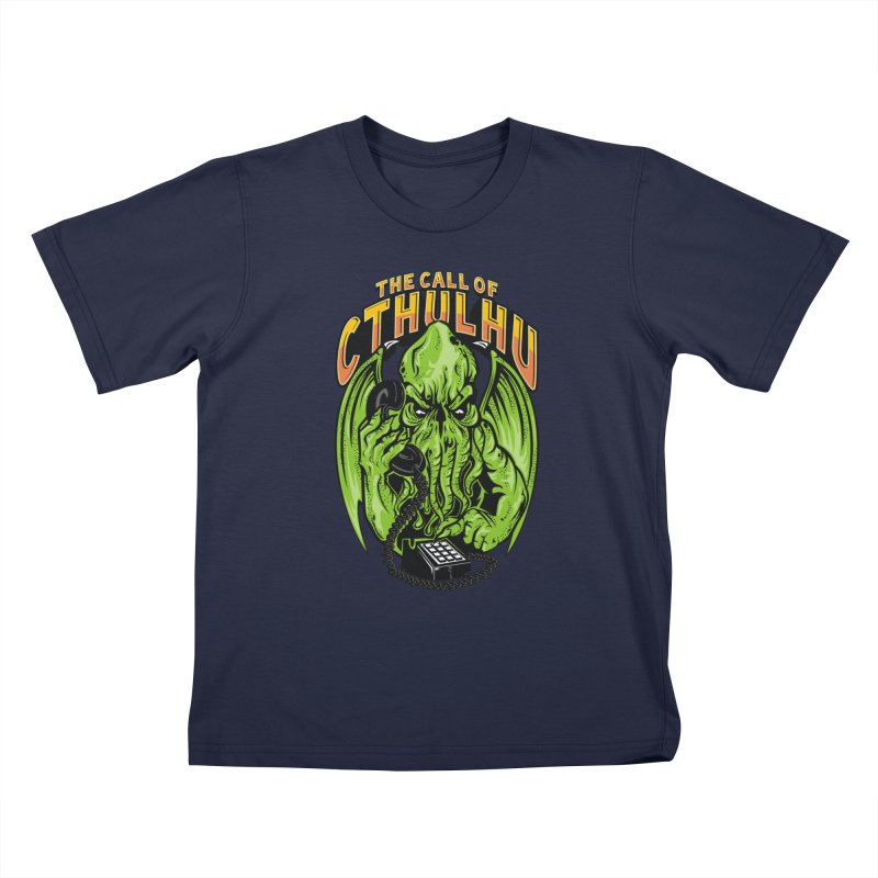 Call of Cthulhu Kids T-shirt by arace's Artist Shop