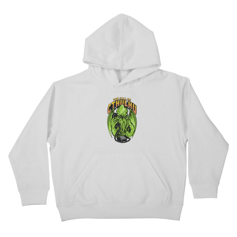 Call of Cthulhu Kids Pullover Hoody by arace's Artist Shop