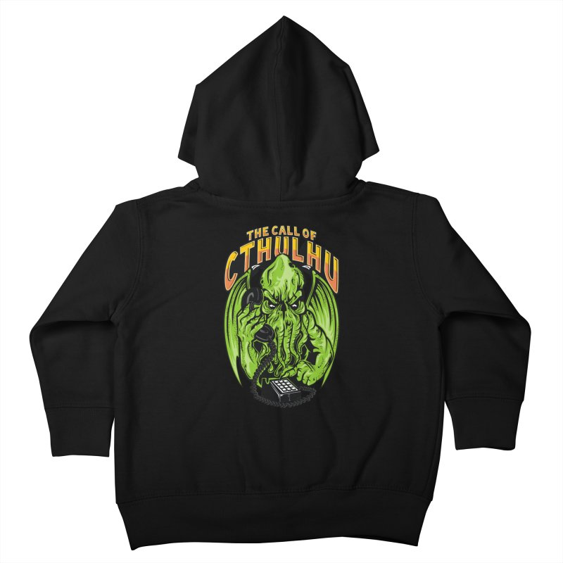 Call of Cthulhu Kids Toddler Zip-Up Hoody by arace's Artist Shop