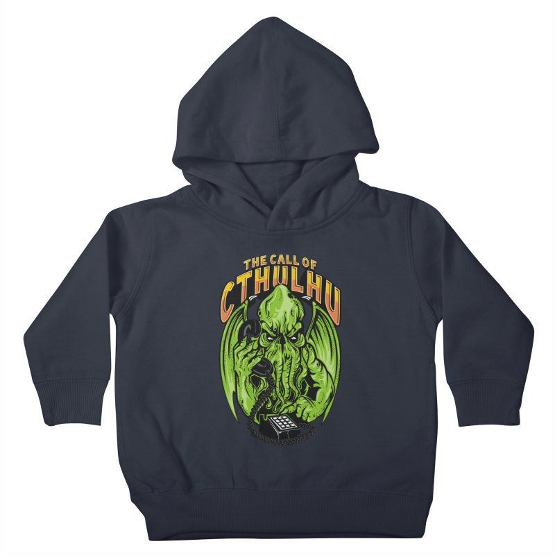 Call of Cthulhu Kids Toddler Pullover Hoody by arace's Artist Shop