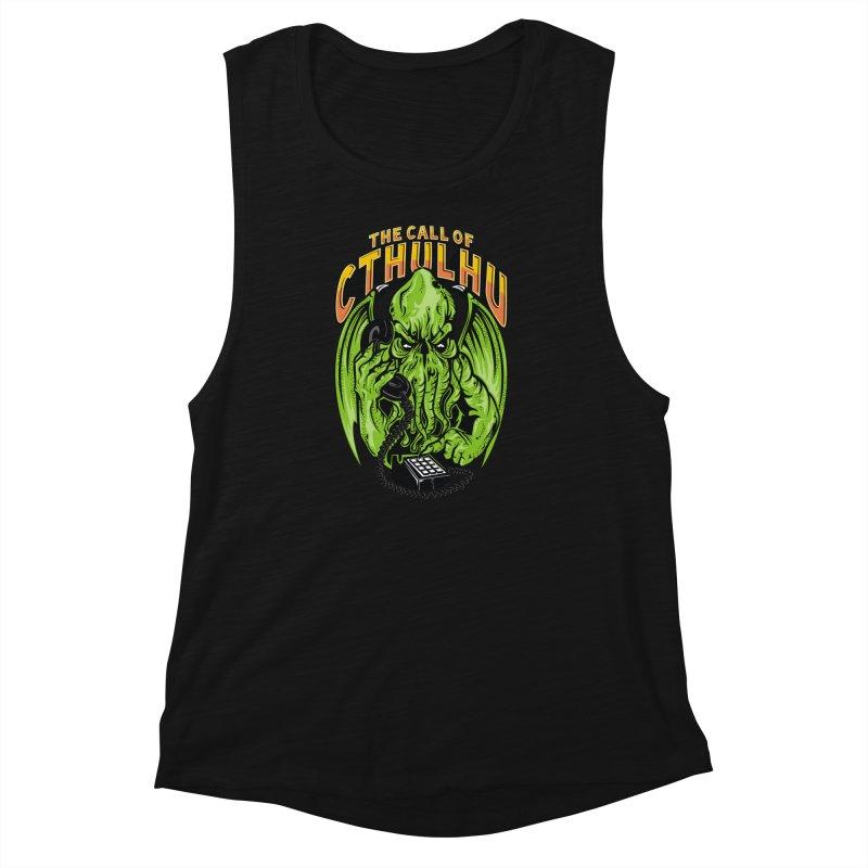 Call of Cthulhu Women's Muscle Tank by arace's Artist Shop