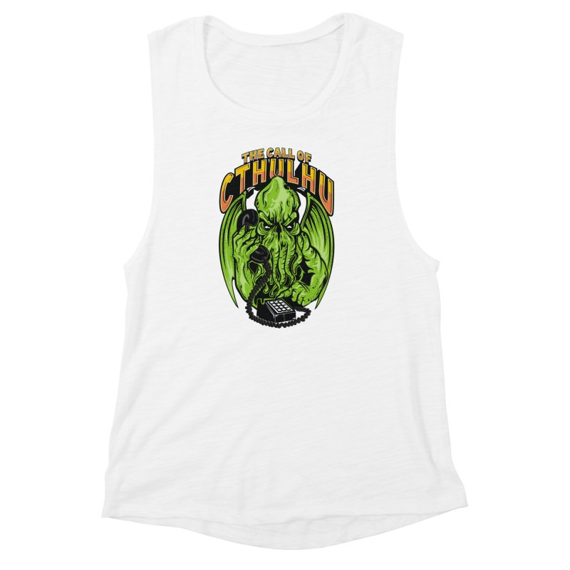 Call of Cthulhu Women's Muscle Tank by arace's Artist Shop