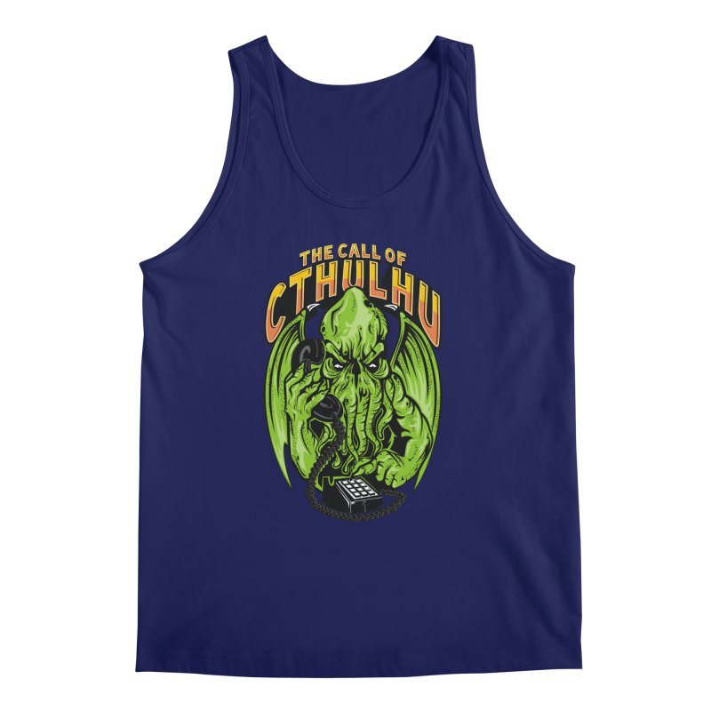 Call of Cthulhu Men's Tank by arace's Artist Shop