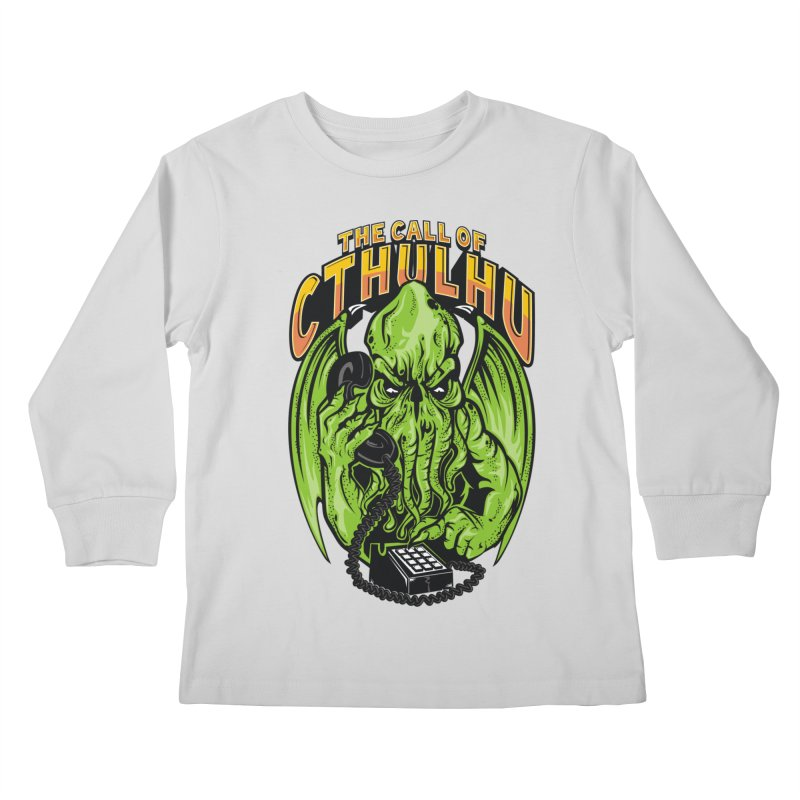 Call of Cthulhu Kids Longsleeve T-Shirt by arace's Artist Shop