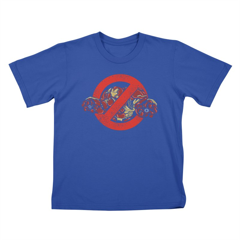 WHO YOU GONNA CALL ? Kids T-shirt by arace's Artist Shop